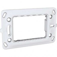 electrice harghita - suport aparataj, 3 module, schneider, unica - schneider - mgu7.103.p