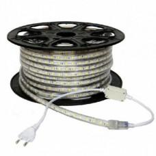 electrice harghita - banda led 220v 60led/m 14.4w/m ip65 r5050 6400k - odosun - od6653