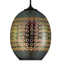 Pendul sticla, 3D, RADIAN, E27, 240X220 mm